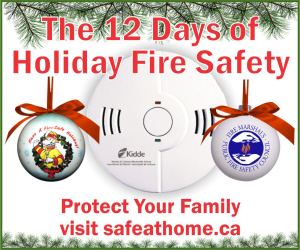 12 Days of Holiday Fire Safety