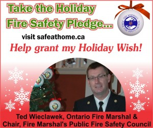 12 Days of Holiday Fire Safety - Fire Marshall