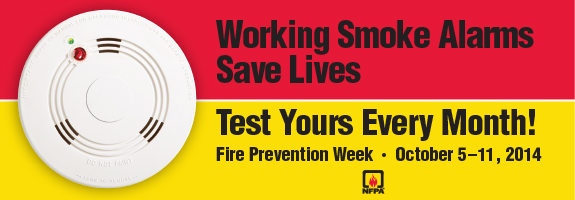 Fire Prevention Week 2014