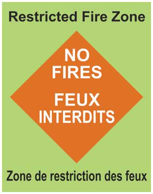 Restricted Fire Zone - Fire Ban