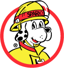 Sparky The Fire Dog in Searchmont