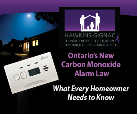 CO Detector Law Change in Ontario